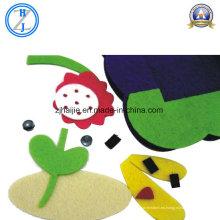 Tela no tejida 100% del fieltro de las lanas para los juguetes