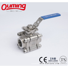 3PC High Pressure Ball Valve with High Platform