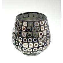New Design Glass Mosaic Candle Holder for Holiday