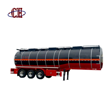 Asphalt Bitumen Pitch Tank Semi Trailer