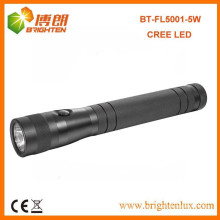 Factory Supply Heavy Duty High Powered 5 modes Multi-functional Aluminum XPG 5W LED Cree Flashlight