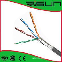 Cable de la red 4pairs sólido del ftp Cat5e de la alta calidad / cable del LAN / cable de Communicationn