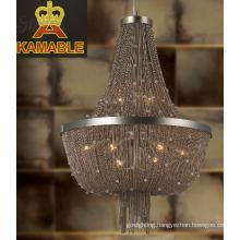 Modern Silver Chain Pendant Lighting (KA1292)