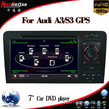 7 Inch Car DVD Player for Audi A3 Audi S3 GPS Navigation with Tmc USB (HL-8796GB)