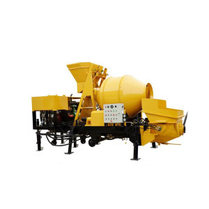 Lightweight Concrete Mixer Machine With Pump