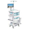 Poste de travail mobile d'infirmière en ABS Tianao Light Series