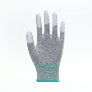 PU Coated Smooth Finished Working Safety Gloves