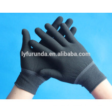 13 gauge polyester working gloves,dust free electrical work glove