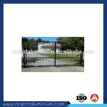 Conception de porte principale coulissante en aluminium à chaud