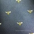 Skinny Polyester Jacquard Bees Designer Ties Sale