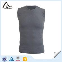 Camisola de alças sem emenda do Gym dos homens