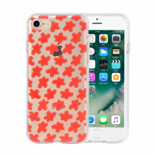 IML Red Flowers iPhone8 Plus Protective Phone Case