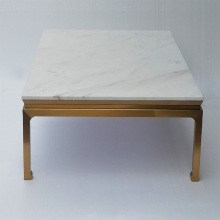 Modern furniture home coffee table marble top