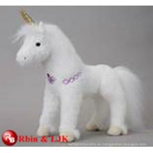 ICTI Audited Factory juguete suave unicornio