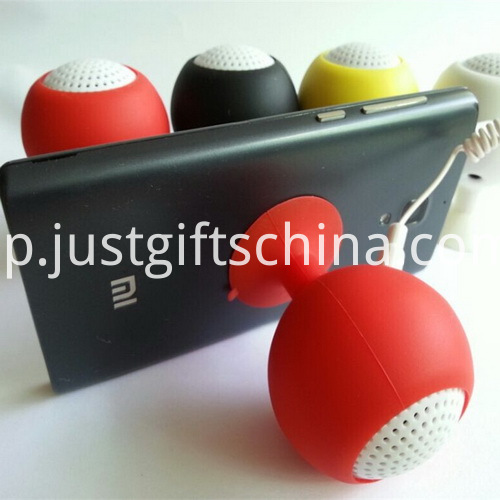 Promotional Mini Glass Shape Bluetooth Speaker W Suction Cup_1