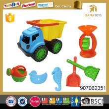 Plástico, areia, praia, brinquedo, car, funil