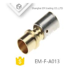 Encaixe de tubulação de união de compressão de latão de conector rápido EM-F-A013