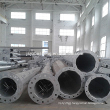 Galvanized Dodecagonal Electrical Steel Pole