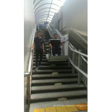 China supply inclined wheelchair lift/patient lift for disabled people/stairway lifts