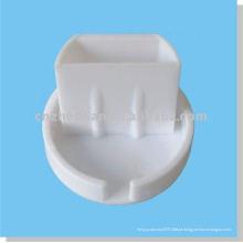 Tampa de extremidade do componente de cortina para trilho inferior, mecanismos de cortina de rolo, acessórios de tubo de obturador de rolo, tampa de extremidade para cortina de rolo