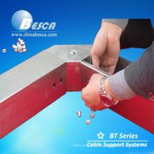 Оцинкованная Нержавеющая сталь алюминий стеклопластик металлических кабельных лотков, воздуховодов