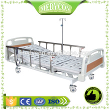 Modern electric 5 functions hospital bed with ABS board