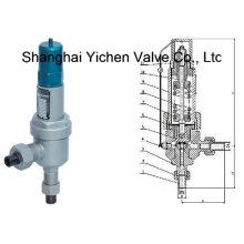 Soupape de sécurité de pression de type à souder par emboîtement (YCA61H / Y)