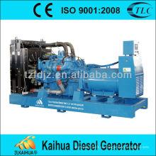 Дизель генератор устанавливает первоначально двигатель МТУ