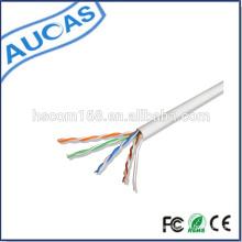 Cat5e cabo de rede / ftp cat5e ethernet / rede / lan cabo / 24AWG 4 pares de cabo de rede de cobre torcido