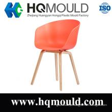 Forno de plástico HQ sobre um cadeira de madeira AAC22 perna de madeira cadeira molde
