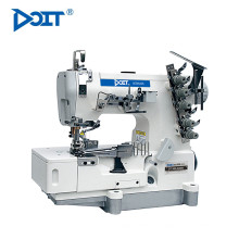 DT500-02BB Chine DOIT Tape Binding Flat Bed Interlock Coverstitch Machine À Coudre Prix