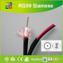Xingfa Fabriqué Rg59 Conducteur 20AWG avec puissance