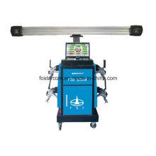 Sin empuje tipo de carro 3D de cuatro ruedas Instrumento de posicionamiento: Fsd-W300A