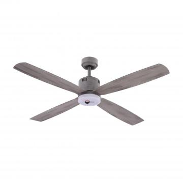 ArtCorner Farmhouse Ceiling Fan with Lights Remote Control