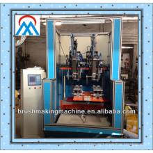 Besenmaschine in der Bürste, die Maschinen / automatische Besenmaschinen / Plastikbürsten herstellt, die Maschine / Reinigungsbürste herstellen, die Maschine herstellt