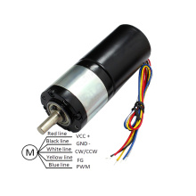 12 Volt Planetary Geared Brushless DC Motor