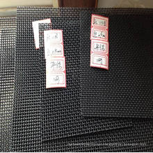Black 316 Grade Stainless Steel Security Mesh/Security Window Screen