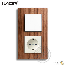Interrupteur et prise murale standard Ivor EU Standard
