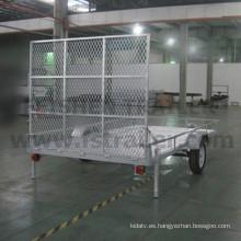 Tamaño grande acoplado de ATV caliente sumergido galvanizado