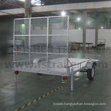 Big size ATV trailer hot dipped galvanized