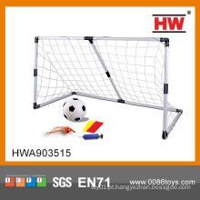 2015 crianças de boa qualidade plástico poste de gol de futebol