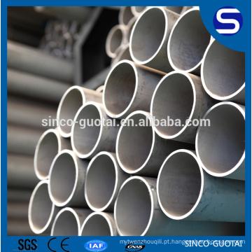Tubulação sem emenda de aço inoxidável de A312 304 316 321 para a indústria