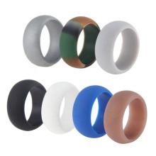 Custom design silicone finger ring vapeband for male