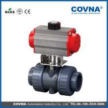 best seller 2 way pvc plastic ball valve for water china supplier