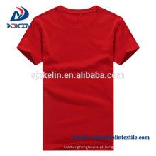 T-shirt de Algodão Orgânico Novo Estilo com Design de Moda