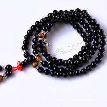 Gets.com bracelet en cuir noir agate stingray