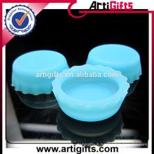 Promotion en gros scellant de manière fiable des capsules réutilisables de bouteille de silicone