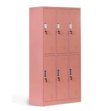 Metal 6 Door Steel School Lockers