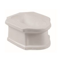 cambodia/thailand whole sale new design entry level sanitary ware asian squatting toilet