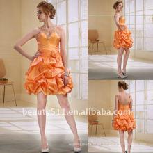 Astergarden Moda Mini rebordear Ruffle Prom vestido de cóctel vestido de noche AS029